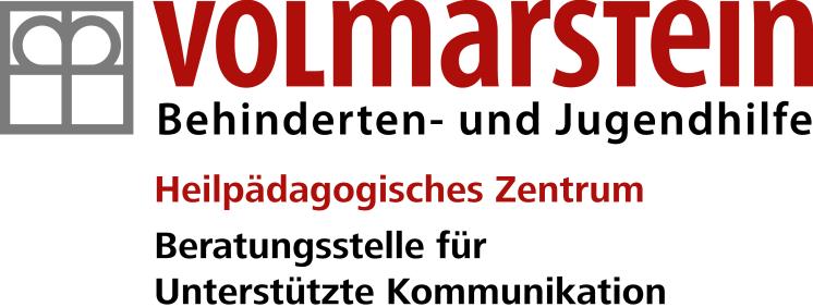 Logo: Volmarstein Behinderten- und Jugendhilfe, Heilpädagogisches Zentrum, Beratungsstelle für Unterstützte Kommunikation